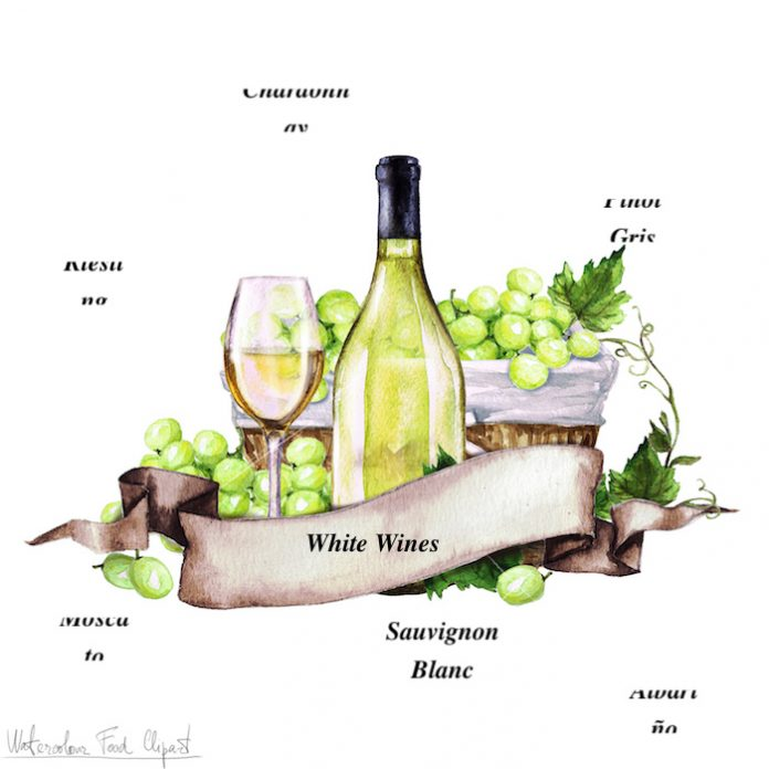 4 δημοφιλείς ποικιλίες λευκού κρασιού!