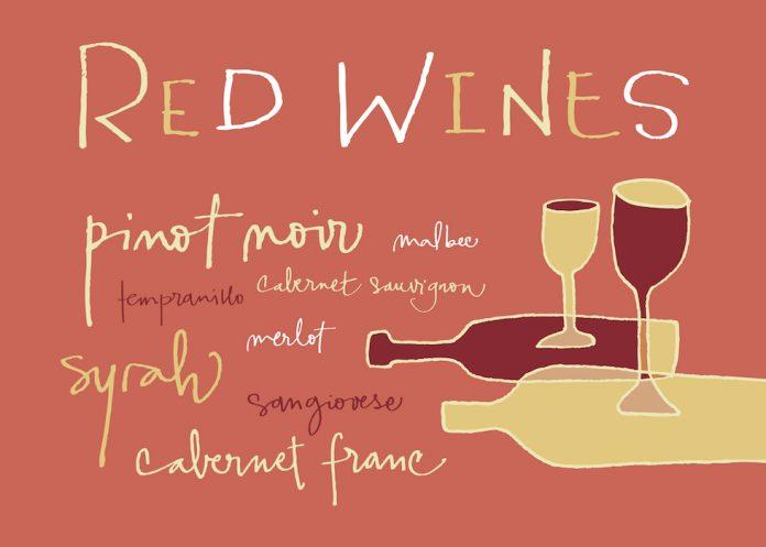 4 δημοφιλείς ποικιλίες κόκκινου κρασιού!
