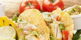 Tacos με ψάρι, εσπεριδοειδή, αγγούρι και μεξικάνικη σάλτσα Pico de Gallo!